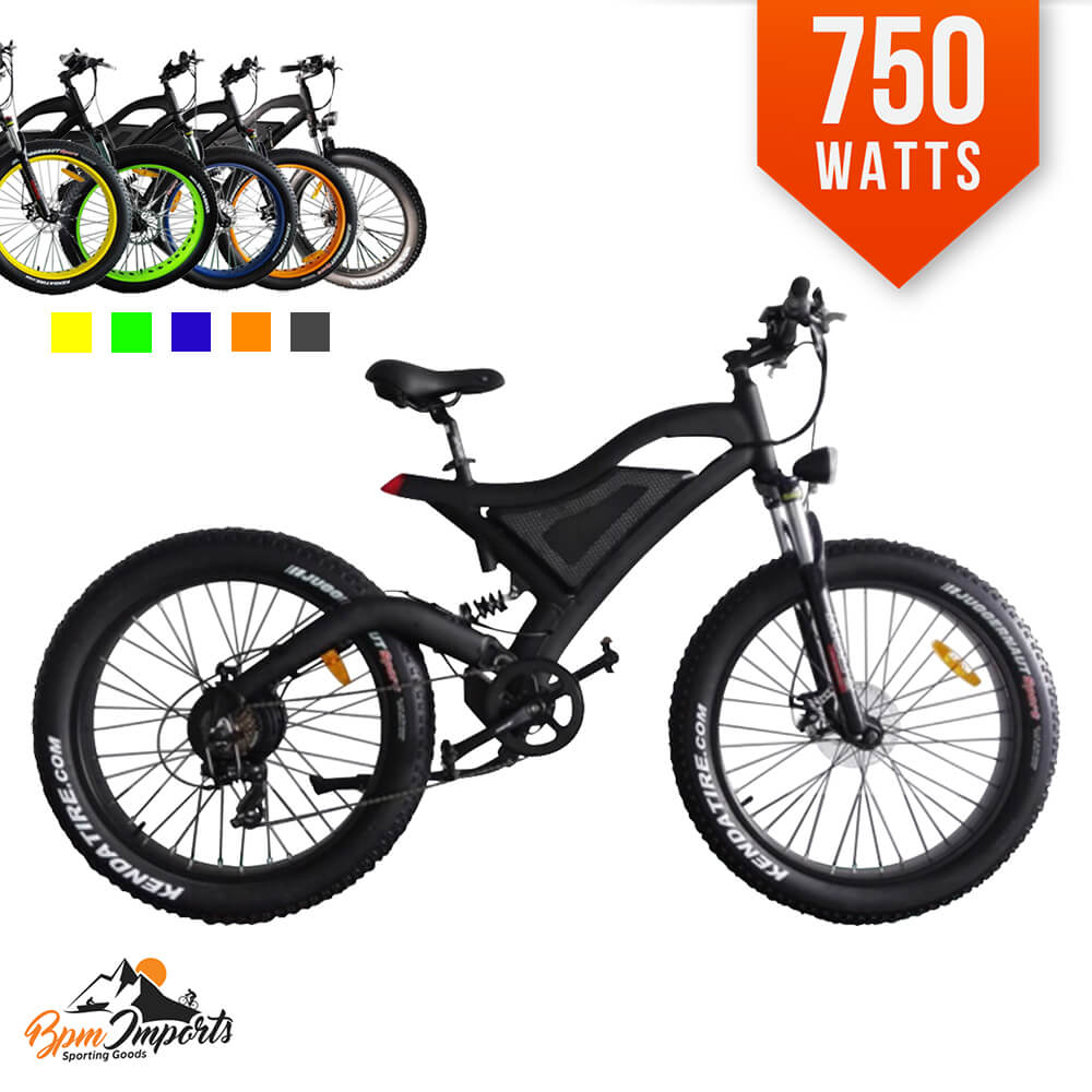 48a7f76efc9 Shop For F35s 750W Fat Tire Electric Bike Bicycle