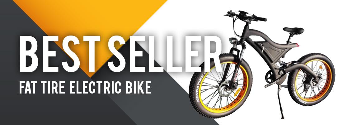 best seller bike banner