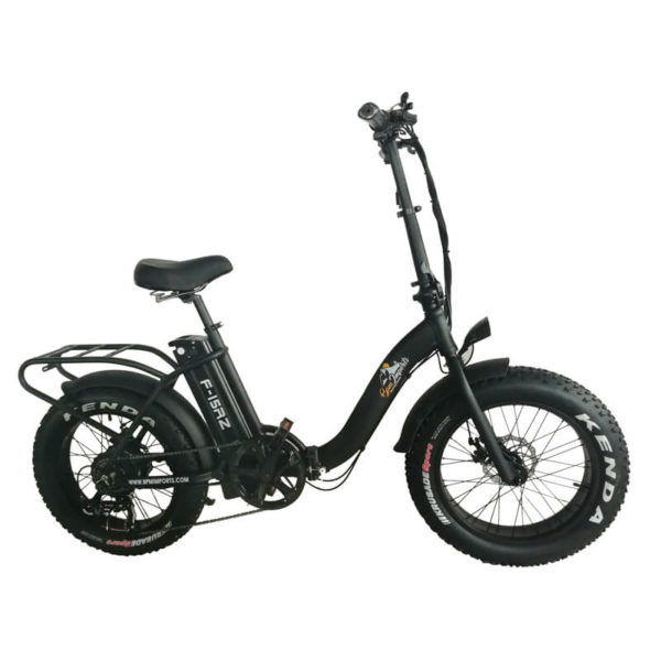 electric folding fat bike