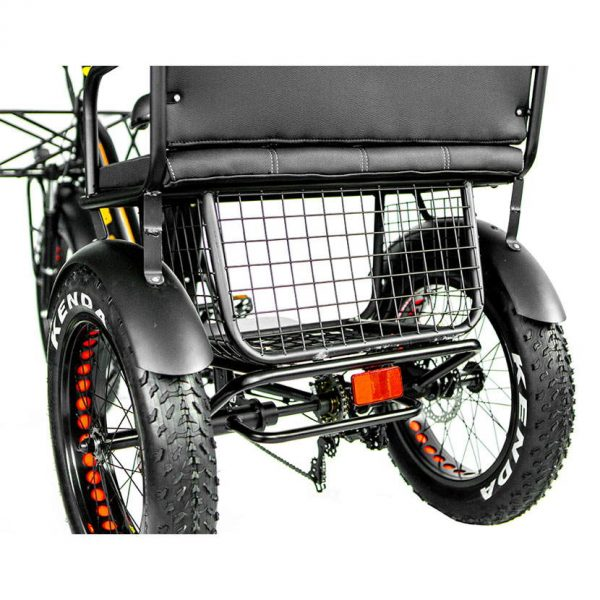 fat tire electric trike with storage