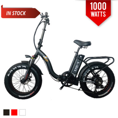 folding fat tire electric bike 1000w